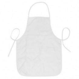 Tablier de cuisine blanc enfant 37 x 49 cm personnalisable en sublimation (vendu à l'unité)