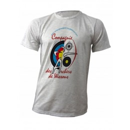 Pack 10 tee-shirts Gris Ash sublimation adultes avec tailles au choix