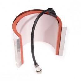 Résistance à mug ronde pour presse Secabo TM1 Ø 7,5 à 9 cm