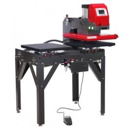 Presse pneumatique sur poste de travail Secabo TPD7 PREMIUM 2 x 40 x 50 cm