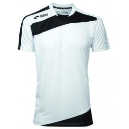 Tee-shirt sport ELDERA blanc/noir Gamme Prestige XXXS à XXXXL