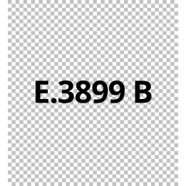 E3899B Transparent - Vinyle adhésif Ecotac - Durabilité jusqu'à 6 ans