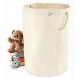 Panier de rangement 100% toile de coton résistante naturel W580 - 3 dimensions (vendu à l'unité)