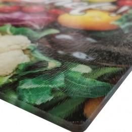 Planche à découper en verre 28,5 x 39 cm personnalisable sublimation