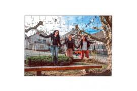 Puzzle en bois 25 x 36 cm avec 150 pièces ép. 3 mm