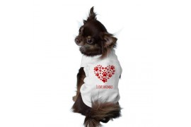 Body 100% polyester pour chien - 4 tailles : XS - S - M - L