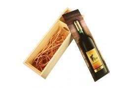 Coffret en bois pour bouteille à personnaliser