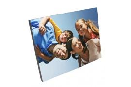 Cadre photo MDF blanc 19 x 25 cm épaisseur 15 mm