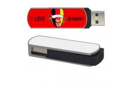 Clé USB 8 Go avec plaque aluminium pour sublimation