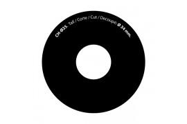 Matrice pour outil de découpe circulaire papier badge rond
