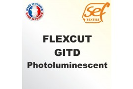 PU FlexCut Photoluminescent GITD