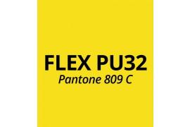 Vinyle thermocollant Flex Jaune Fluo PU32