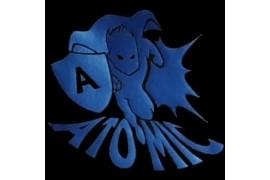 "PU FlexCut Atomic Bleu 05 ""Effet métallique irisé"""