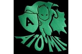 """PU FlexCut Atomic Vert 04 """"Effet métallique irisé"""""""
