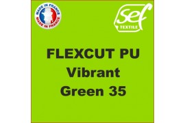 PU FlexCut Vibrant Green 35
