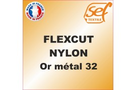 PU FlexCut Nylon Or Métal 32