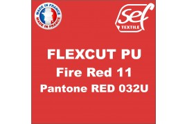 PU FlexCut Fire Red 11