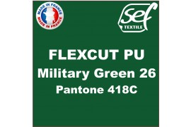 PU FlexCut Military Green 26