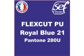 PU FlexCut Royal Blue 21
