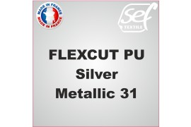 PU FlexCut Silver Metallic 31