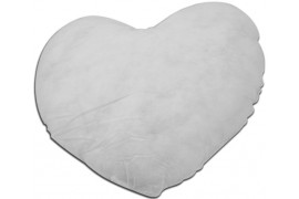 Garniture de coussin coeur - Plusieurs dimensions (vendu à l'unité)