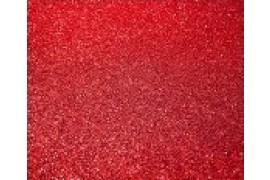Flex de découpe Glitter coloris Rouge