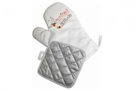 Kit gant et manique de cuisine pour sublimation