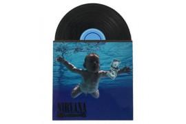 Magnet en MDF format disque vinyle 7 x 10,2 cm - Epaisseur 3 mm (vendu à l'unité)
