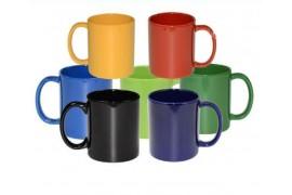 Mug couleur en céramique mate de haute qualité