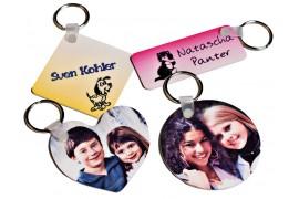 Porte-clé en plastique 4 formats