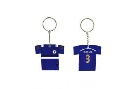 Porte-clé polymère au format tee-shirt ép. 2,5 mm