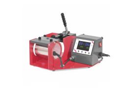Presse à mug Secabo TM-1 (livrée avec résistance standard réglable Ø 7,5 à 9 cm - H 12 cm)
