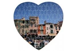 Puzzle coeur 19 x 19 cm épaisseur 2 mm
