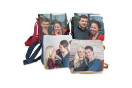 Petit sac à bandoulière couleur RIMINI 180 x 200 x 60 mm avec rabat interchangeable (vendu à l'unité)