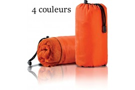 Serviette de sport PA576 en microfibre avec housse polyamide - 4 coloris