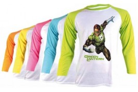 Tee-shirt bicolore Fun manches longues