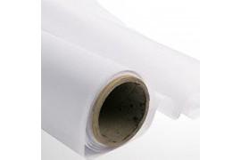 Tissu de drapeau polyester blanc largeur 153 cm - Vendu au mètre