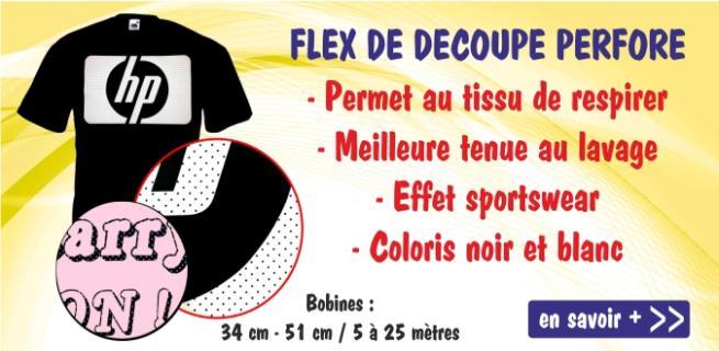 Flex perforé